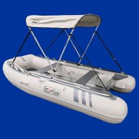 Annexe bateau pneumatique Lemarius Naviga 300 avec un plancher aluminium.