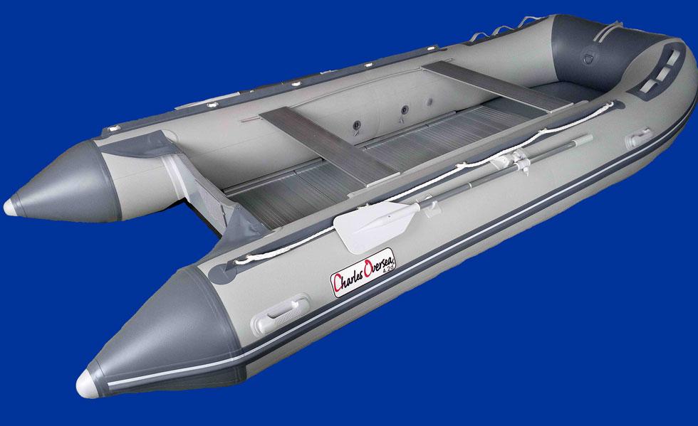 bateau pneumatique charles oversea plancher aluminium. Black Bedroom Furniture Sets. Home Design Ideas